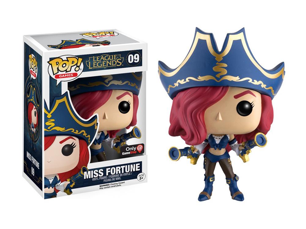 Figura de Miss Fortune League of Legends Funko Pop