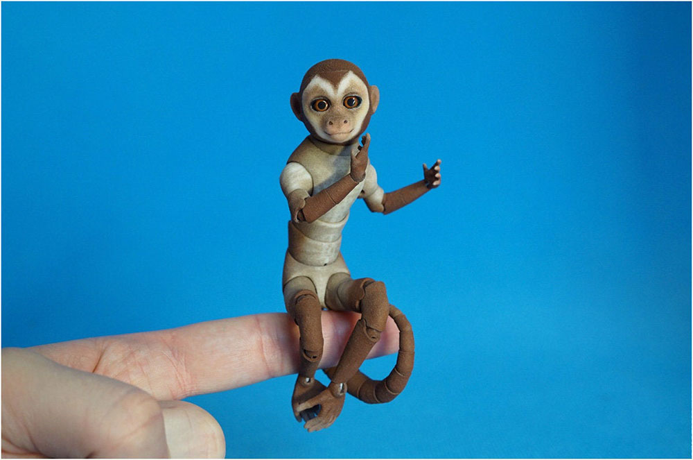 Figura de mono capuchino