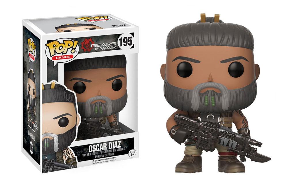 Figura de Oscar Diaz Gears of War Funko Pop 195