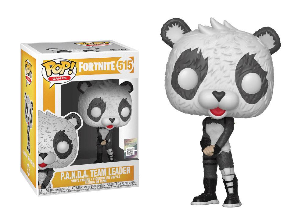 Figura de Panda Team Leader Fortnite Funko Pop