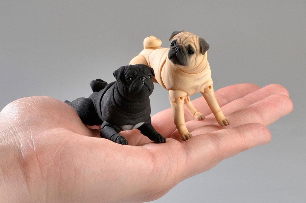 Figura de perro pug