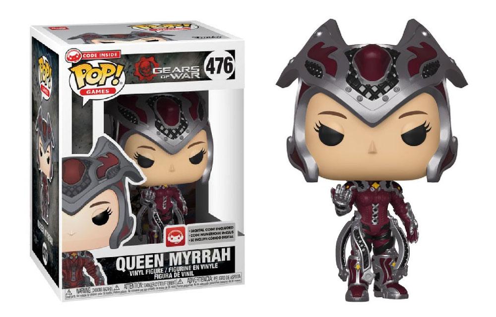 Figura de Queen Myrrah Gears of War Funko Pop