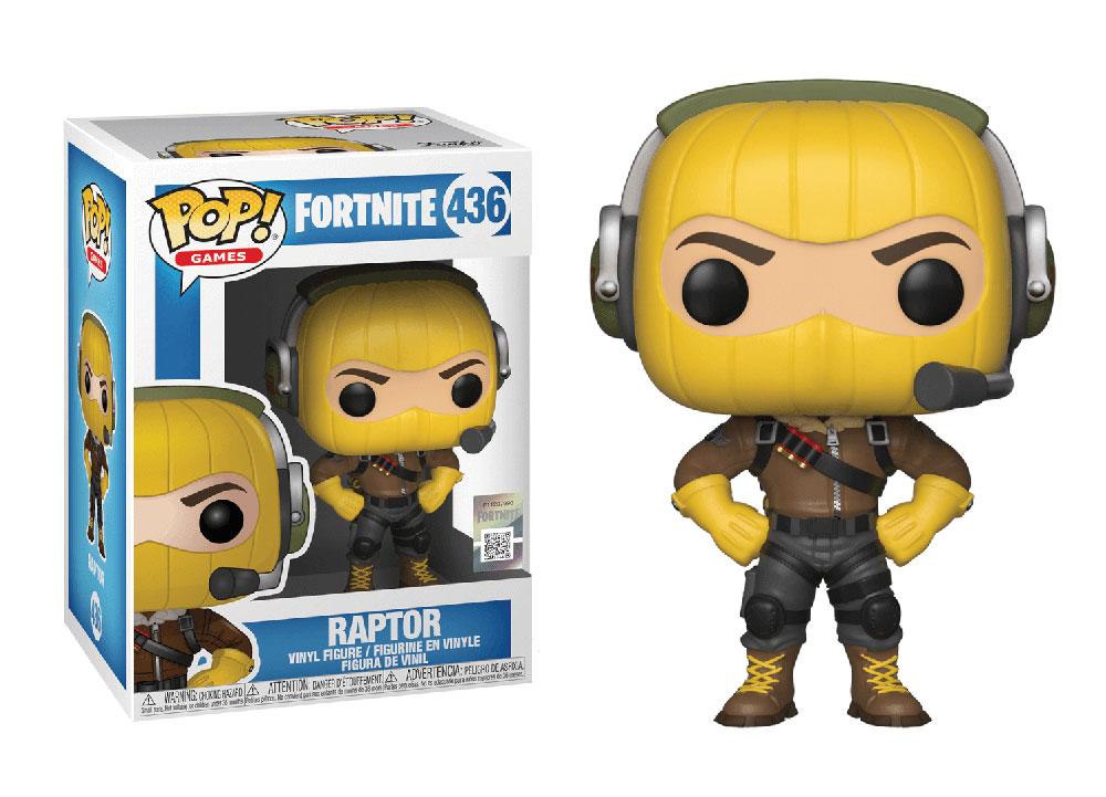 Figura de Raptor Fortnite Funko Pop