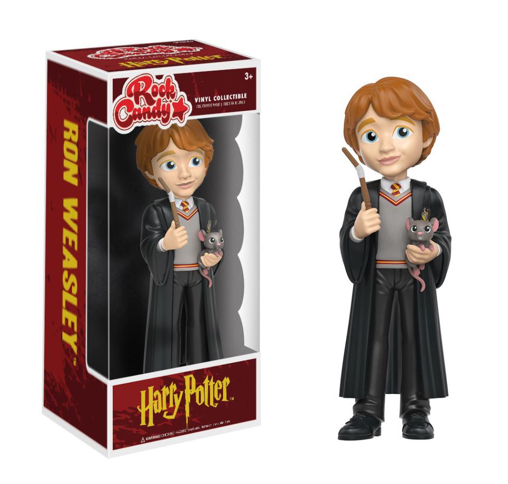 Figura de Ron Weasley Harry Potter Rock Candy