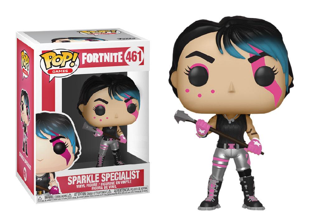 Figura de Sparkle Specialist Fortnite Funko Pop