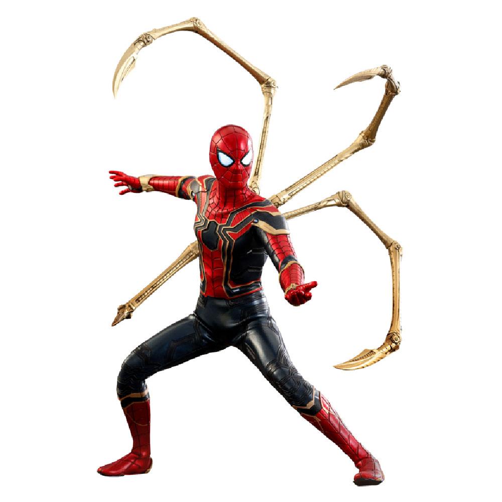 Figura de Spider-Man Iron Spider de Hot Toys Sideshow