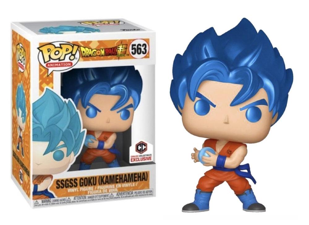 Figura SSGSS Goku (Kamehameha) de Funko Pop