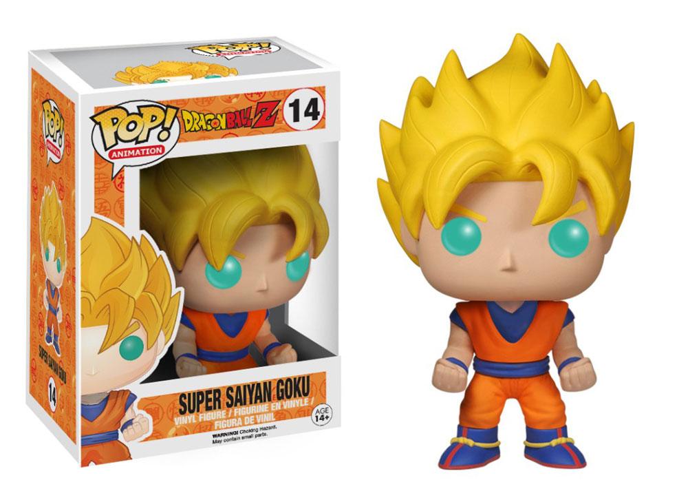 Figura Super Saiyan Goku de Funko Pop