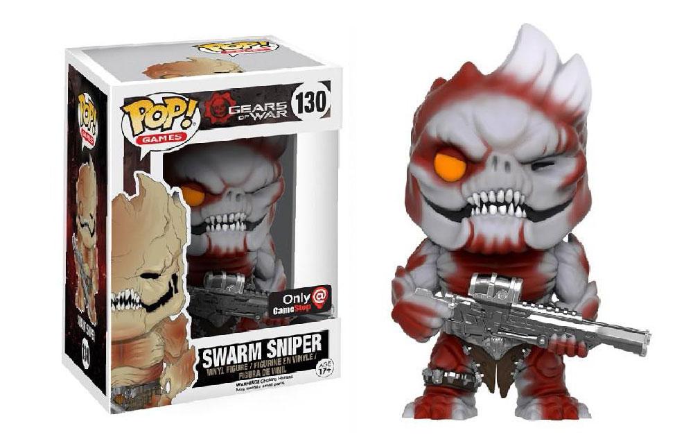 Figura Swarm Sniper Gears of War Funko Pop