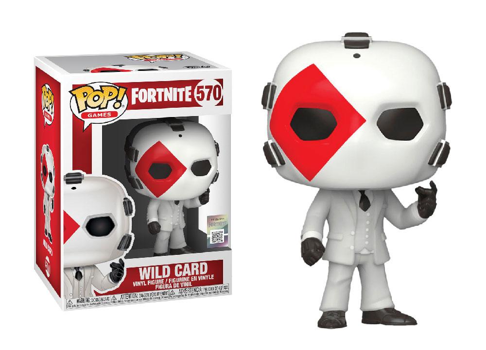 Figura de Wild Card Fortnite Funko Pop