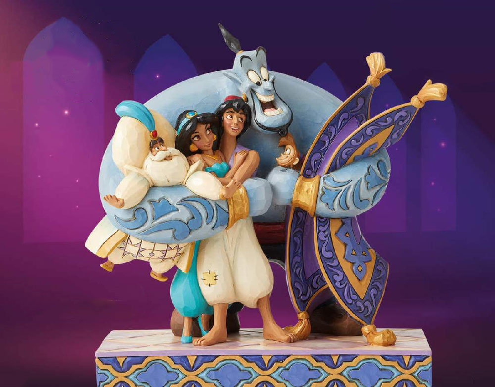 Figuras de Aladdin Disney Traditions