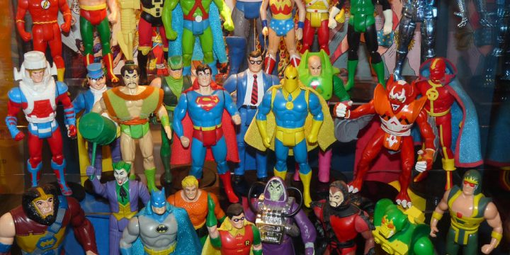 Figuras de Super Powers