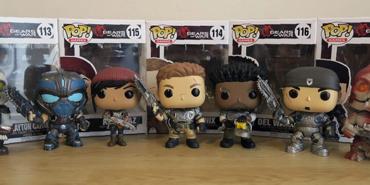 Figuras Gears of War de Funko Pop wave 1