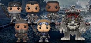 Figuras de Gears of War de Funko Pop wave 2