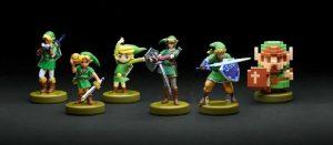 Figuras de Link The Legend of Zelda de Amiibo