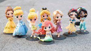 Figuras Princesas Disney de Q Posket