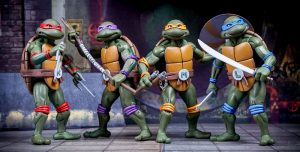 Figuras de las Tortugas Ninja NECA
