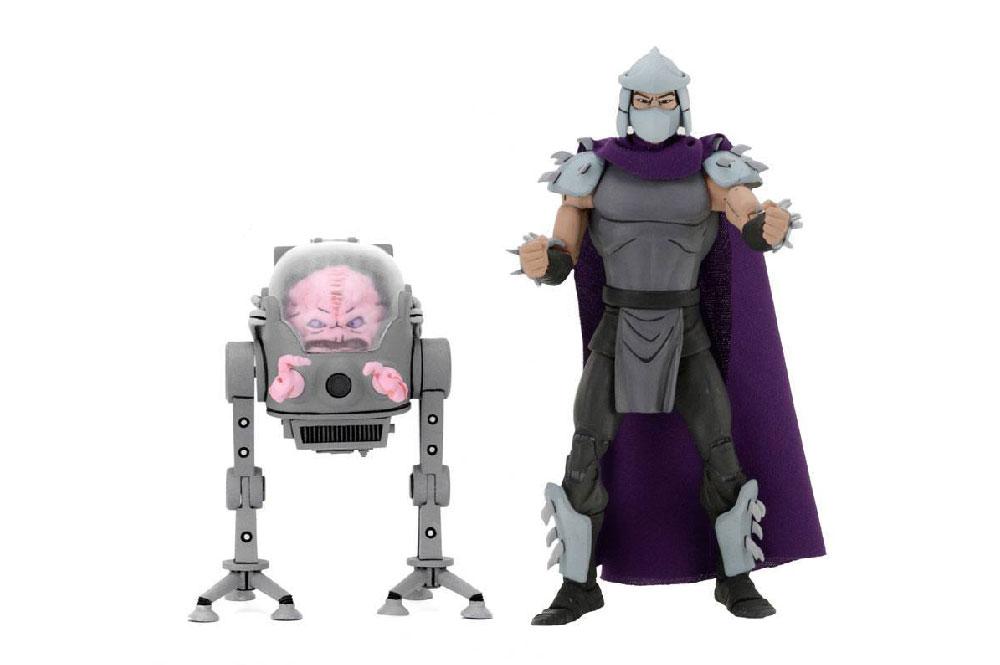 Figuras de Krang y Shredder (Destructor) - Tortugas Ninja