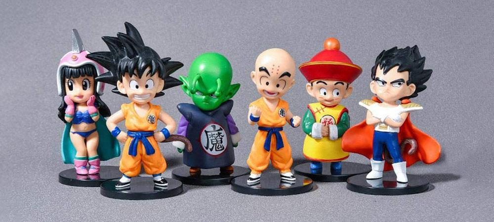 Gashapones de Dragon Ball estilo chibi de Bandai