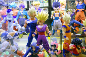 Gashapones Dragon Ball