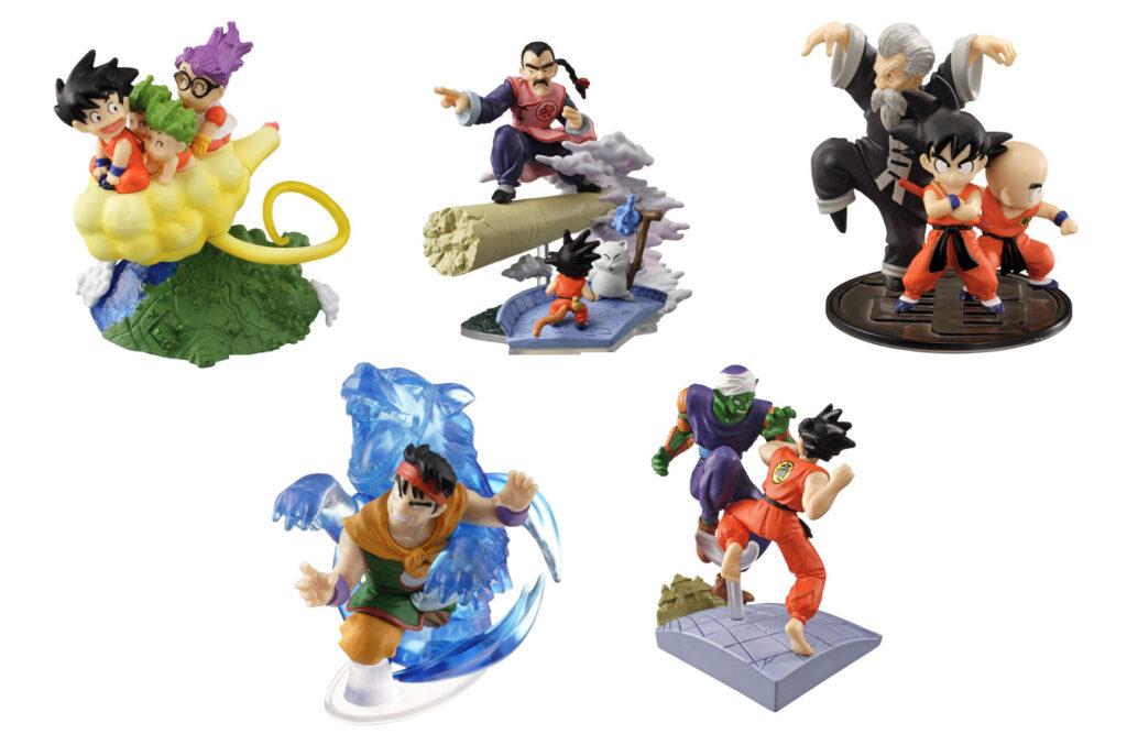 Gashapones de la serie original de Dragon Ball