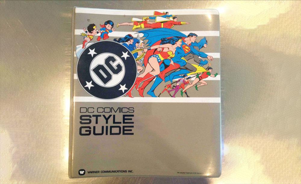 La guía de estilo de DC Comics de 1982