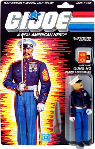 Gung-Ho Marine Dress Blues G.I. Joe