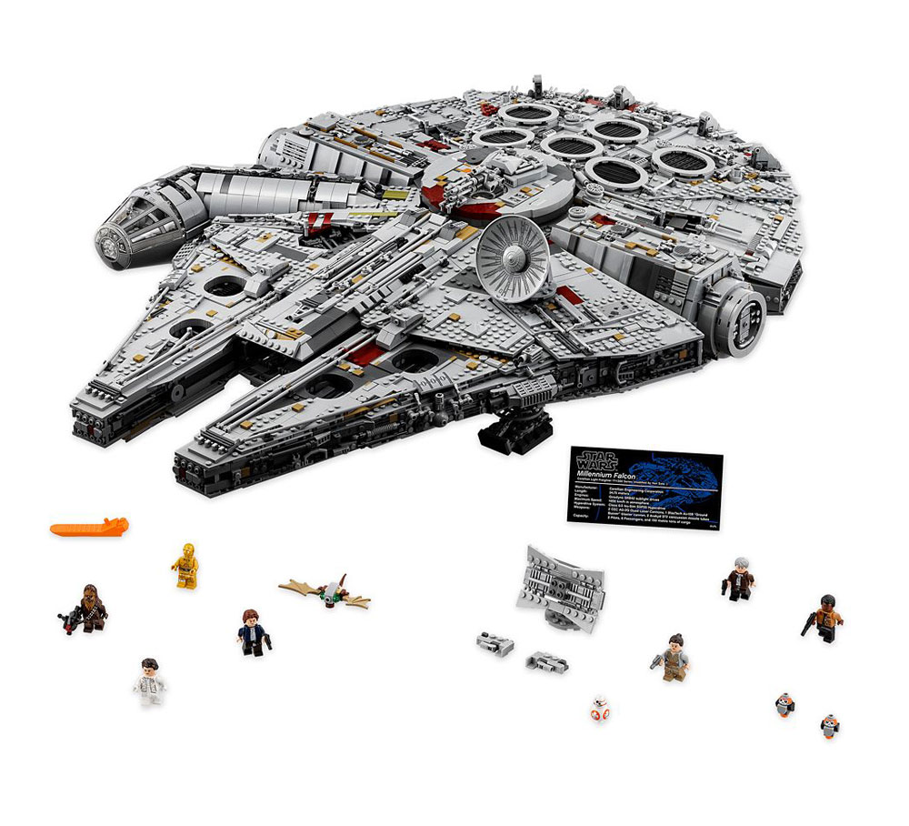 Halcón Milenario Falcon Millennium Ultimate Collector Series LEGO Star Wars