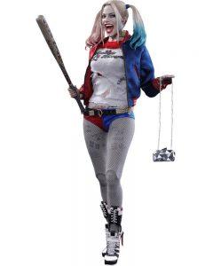 Muñeco de Harley Quinn Hot Toys Movie Masterpiece
