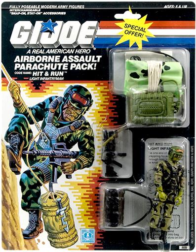 Hit & Run Parachute G.I. Joe