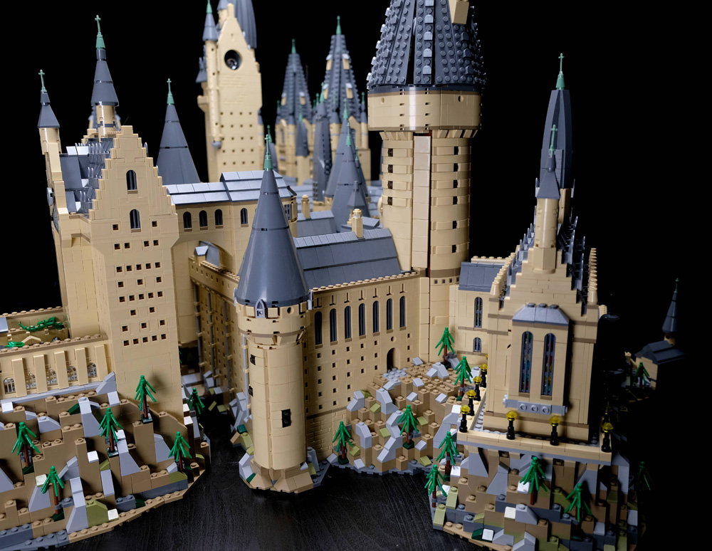 Hogwarts de LEGO Harry Potter 4