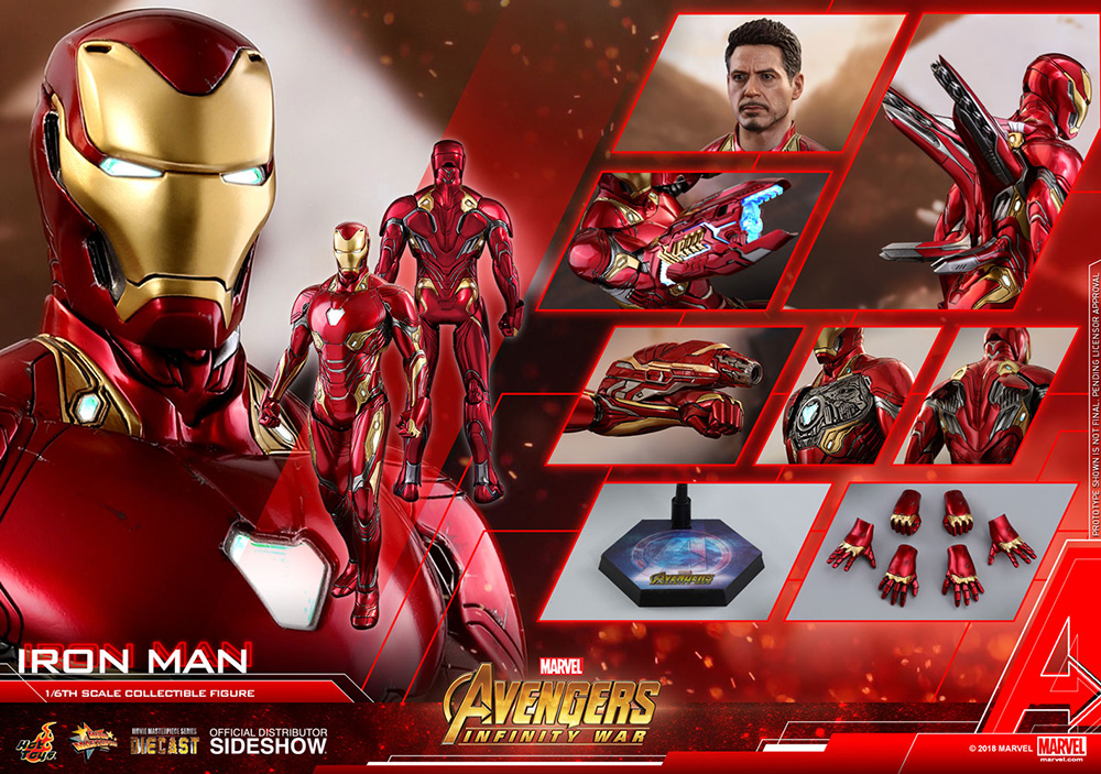 Iron Man Hot Toys Sideshow