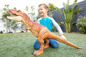 Muñeco Tyrannosaurus Rex Super Colosal Jurassic World