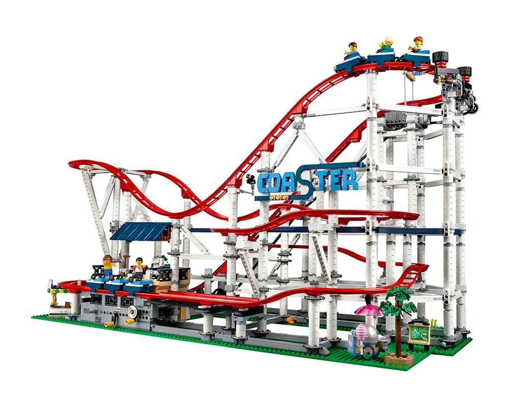 LEGO 10261 Roller Coaster Montaña Rusa