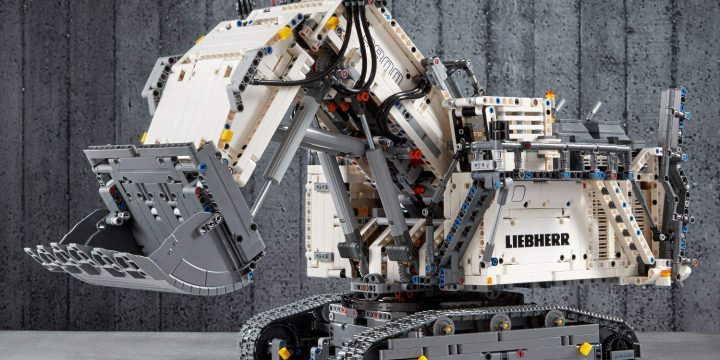 Excavadora Liebherr R 9800, LEGO Technic 42100