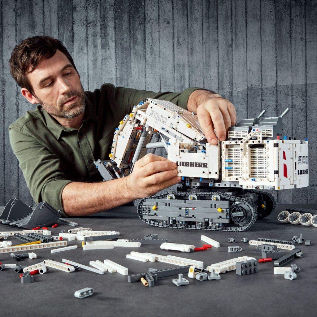 LEGO 42100 Technic excavadora liebherr R 9800