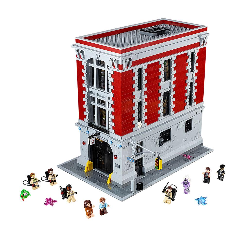 LEGO Cuartel de los Cazafantasmas - Ghostbusters Firehouse 75827