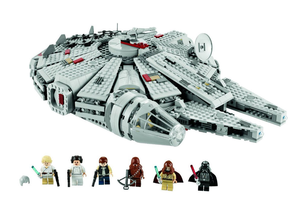Halcón Milenario Falcon Millennium LEGO Star Wars