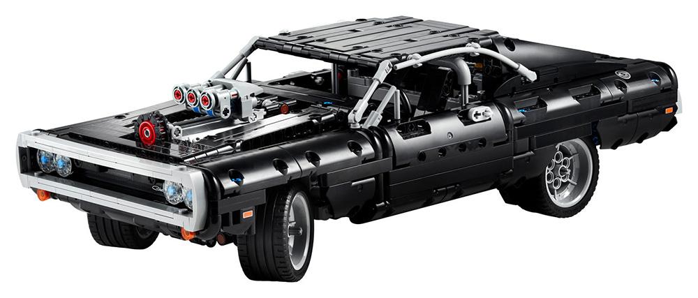 Dodge Charger de Dom de LEGO Technic
