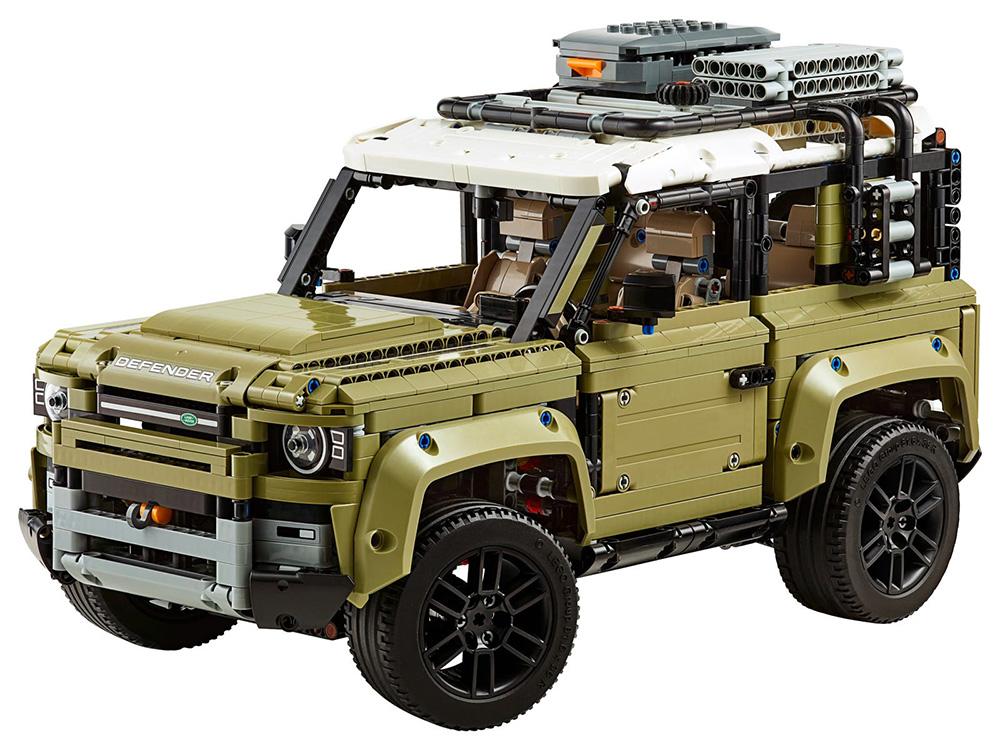 Land Rover Defender de LEGO Technic