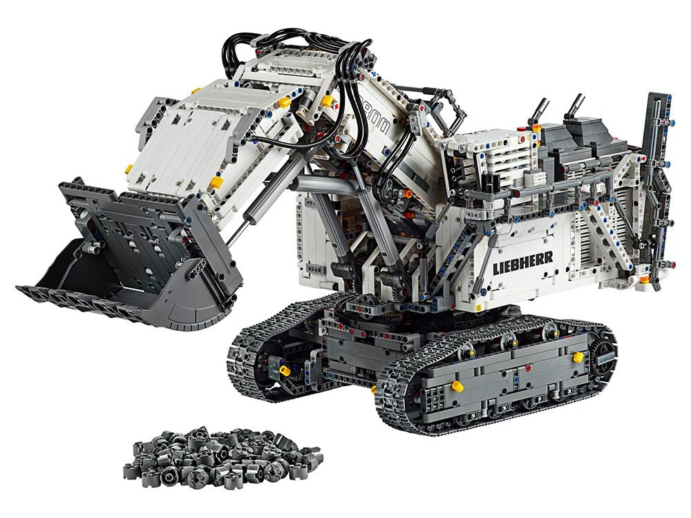 Liebherr R 9800 Excavator de LEGO Technic