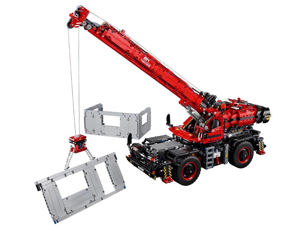 Rough Terrain Crane de LEGO Technic