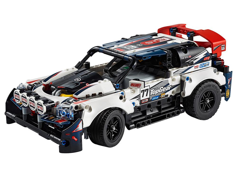 Top Gear Rally Car de LEGO Technic