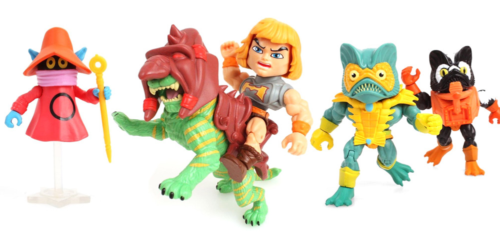 Muñecos de He-Man Loyal Subjects MOTU