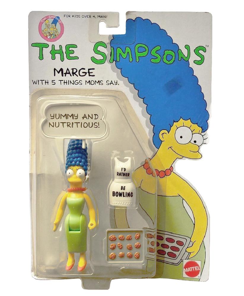 Muñeco de Marge Simpson - Los Simpson Mattel 1990