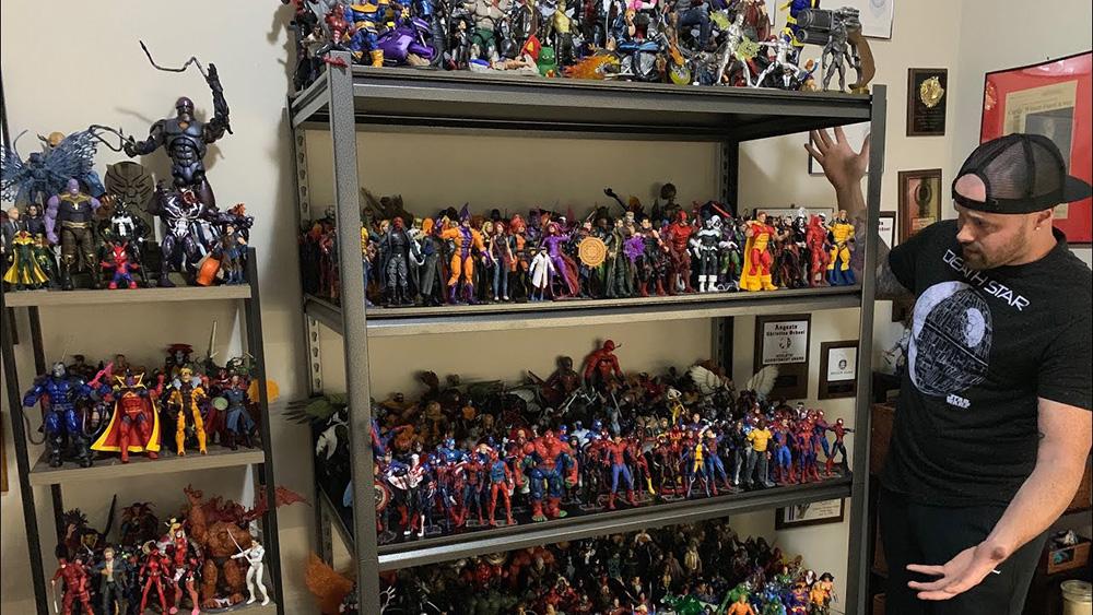 Colección completa de figuras Marvel Legends