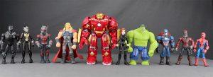 Muñecos Marvel Toybox