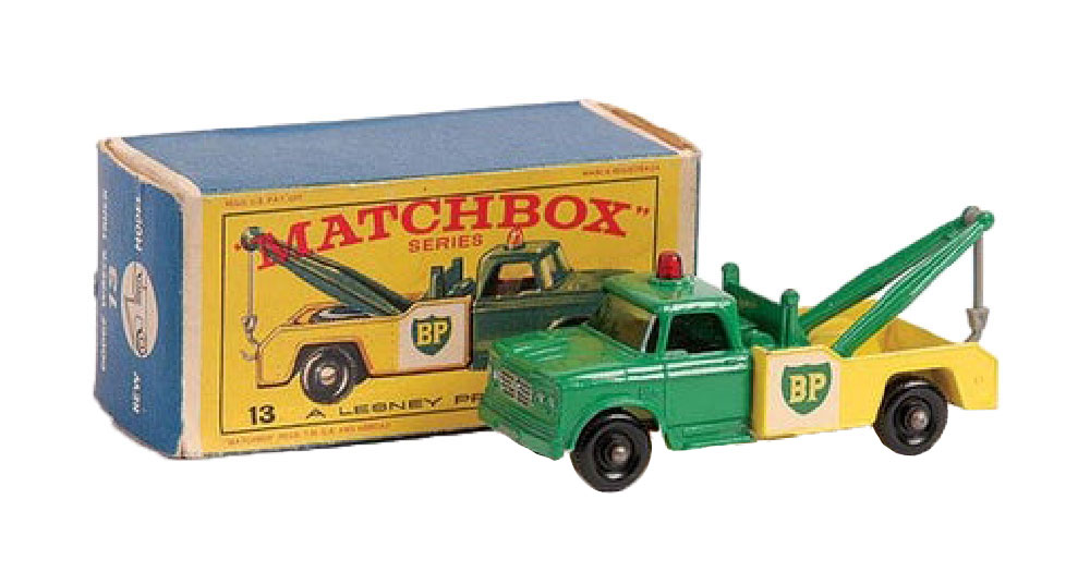 Matchbox Dodge Wrecker 13d invertido