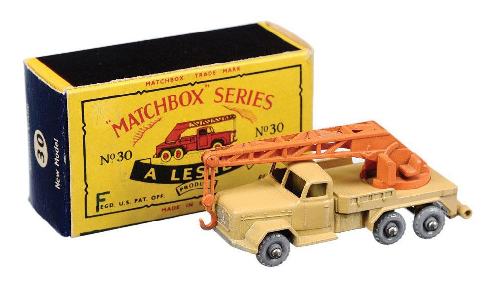 Matchbox Magirus-Deutz Crane Truck 30b