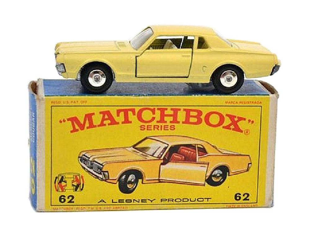 Matchbox Mercury Cougar 62c crema